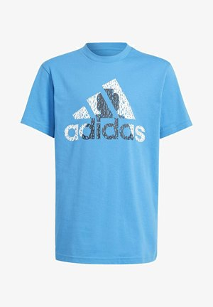 x LEGO GRAPHIC 1 SPORTS GRAPHICS PRIMEGREEN - Print T-shirt - blue