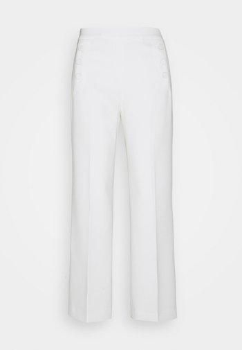 MARGARET CADY PANTS - Pantalon classique - ecru