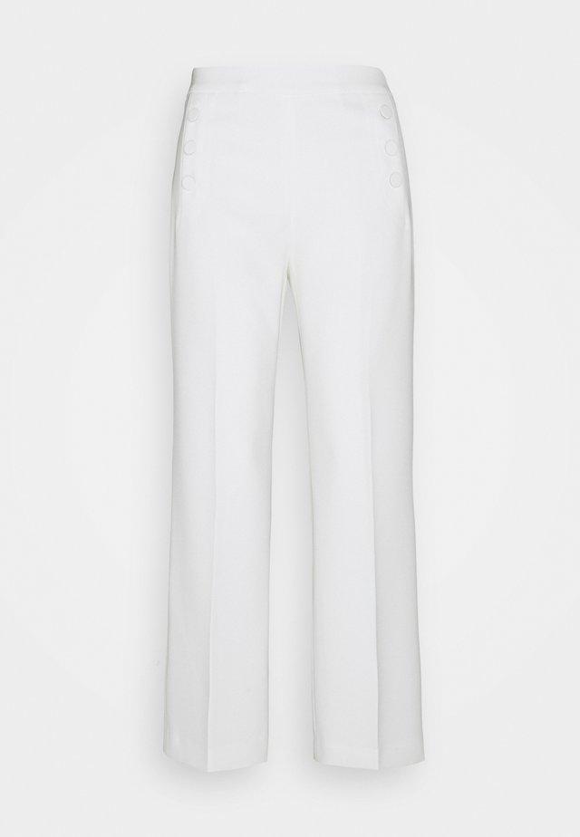 MARGARET CADY PANTS - Bukser - ecru