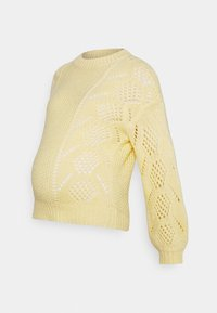 Pieces Maternity - PCMPENELOPE - Jumper - almond oil - 4