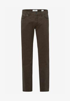 STYLE CADIZ - Jeans a sigaretta - khaki