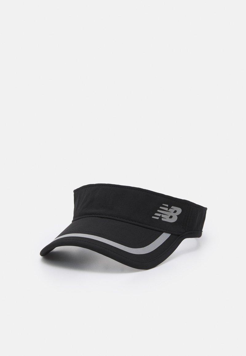 New Balance - IMPACT RUNNING VISOR UNISEX - Cap - black/silver