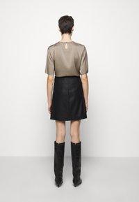 Filippa K - HOLLY SKIRT - A-line skirt - black - 2