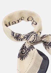 Marc O'Polo - BANDANA HAND PRINTED - Foulard - beige - 2