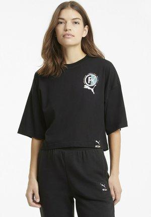 TEE KVINDE - T-Shirt print - black