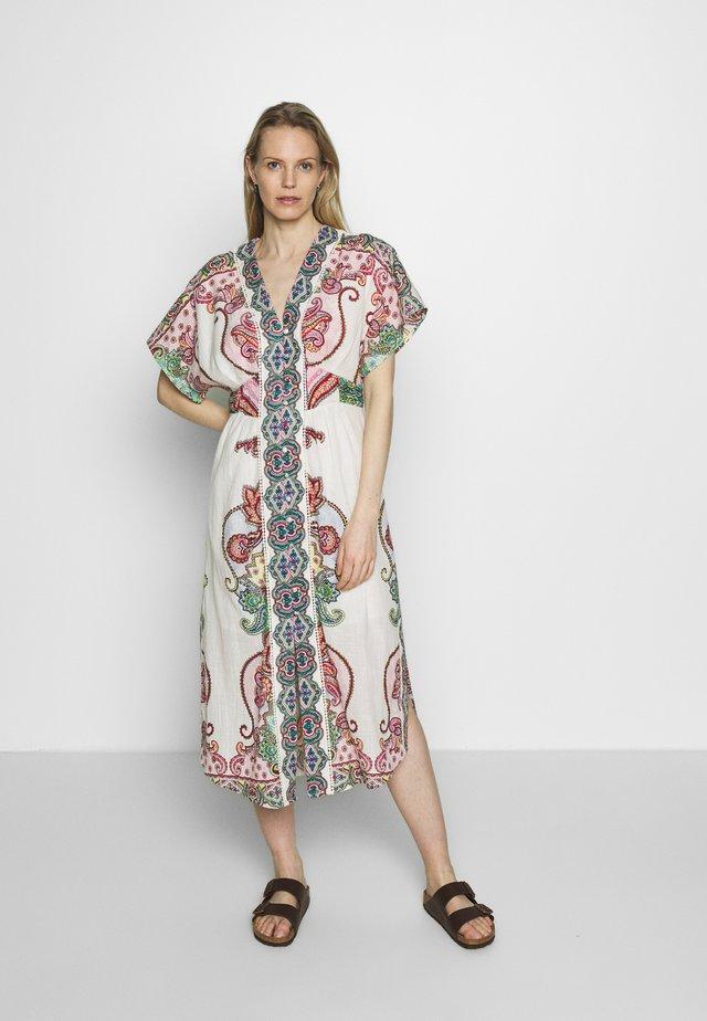 CALCARONE - Korte jurk - off white