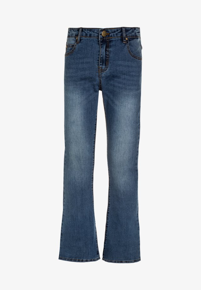 Jean bootcut - light blue denim