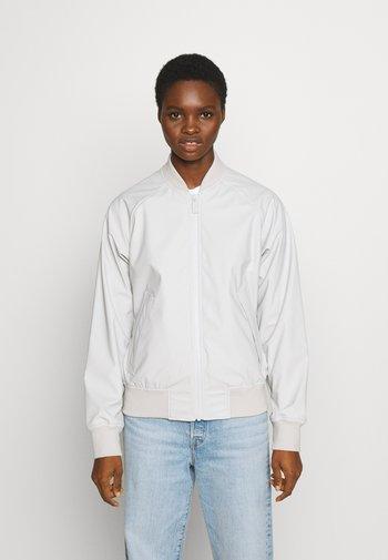 WOMENS ORIGINAL LIGHTWEIGHT JACKET - Faux leather jacket - light grey
