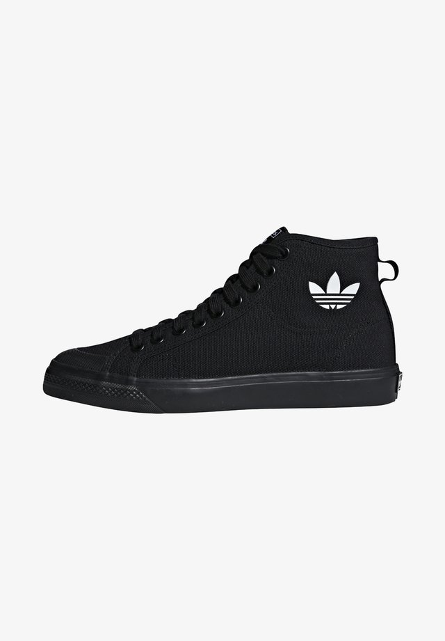 NIZZA UNISEX - High-top trainers - core black/footwear white