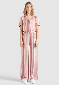 khujo - MAHSALA - Trousers - pink - 1