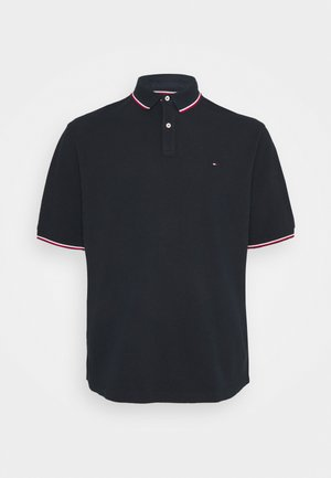 TIPPED POLO - Polo shirt - desert sky