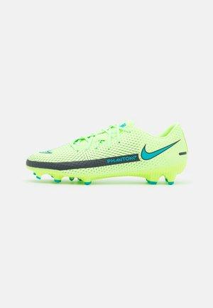 PHANTOM GT ACADEMY FG/MG - Chaussures de foot à crampons - lime glow/aquamarine