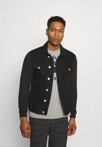 Redefined Rebel - JONAH - Denim jacket - black stone - 0