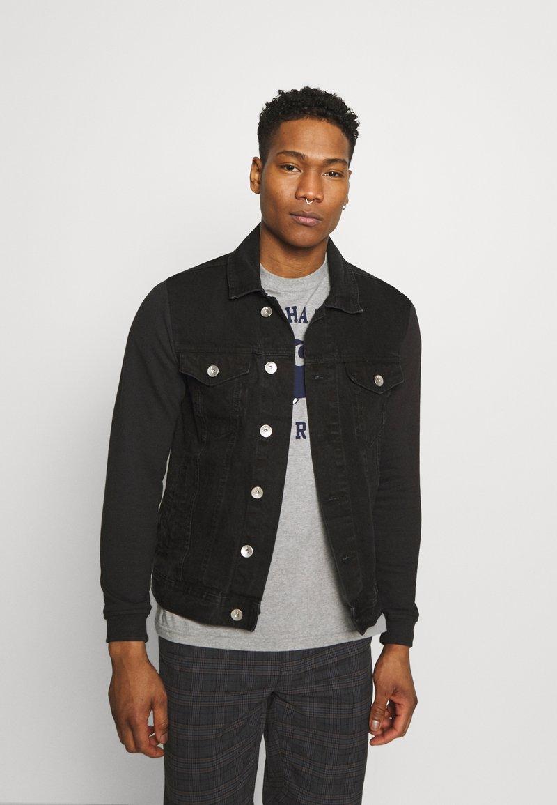 Redefined Rebel - JONAH - Denim jacket - black stone