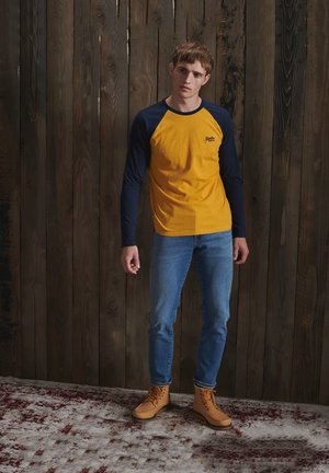 Long sleeved top - upstate gold marl
