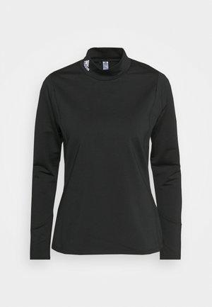 COLD.RDY LONG SLEEVE MOCK - Pitkähihainen paita - black