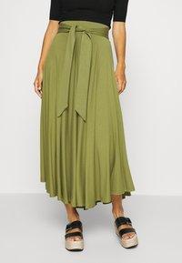 Esprit - A-line skirt - olive - 0
