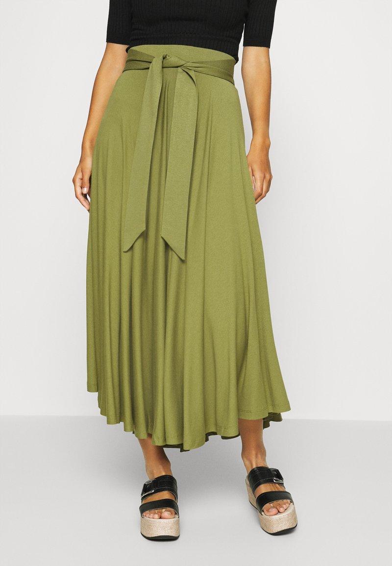 Esprit - A-line skirt - olive