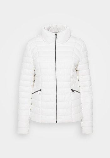 IMBOTTITO OVATT CORT - Faux leather jacket - bianco