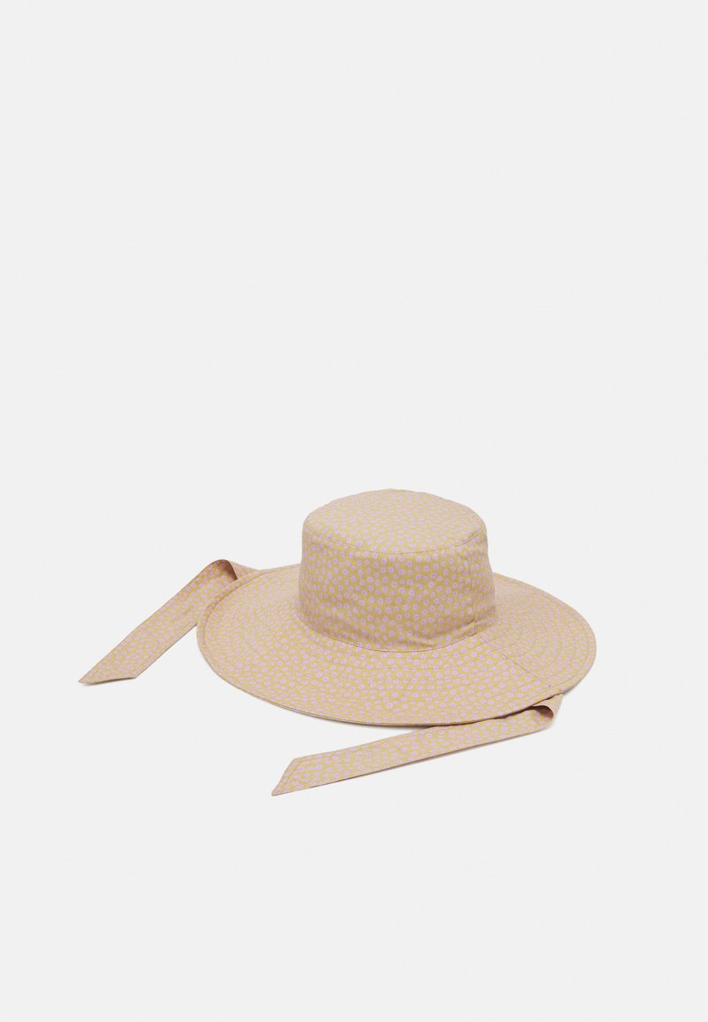 Pieces - PCLAOISE BUCKET HAT - Hat - almond buff