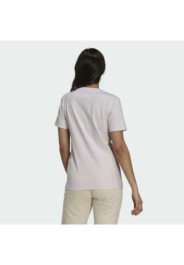 TENNIS LUXE GRAPHIC ORIGINALS - Print T-shirt - pearl amethyst