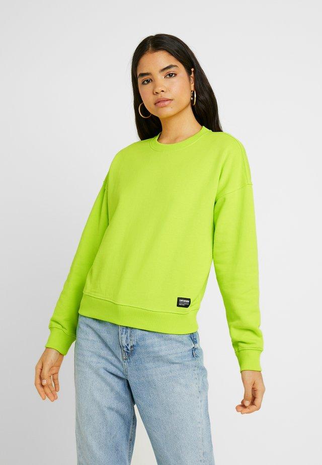 GLADE - Sweatshirt - glowstick yellow