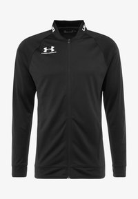 Under Armour - CHALLENGER III JACKET - Sportovní bunda - black/white - 3