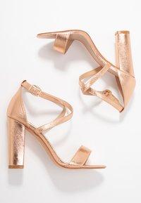 Glamorous - High heeled sandals - rose gold - 3