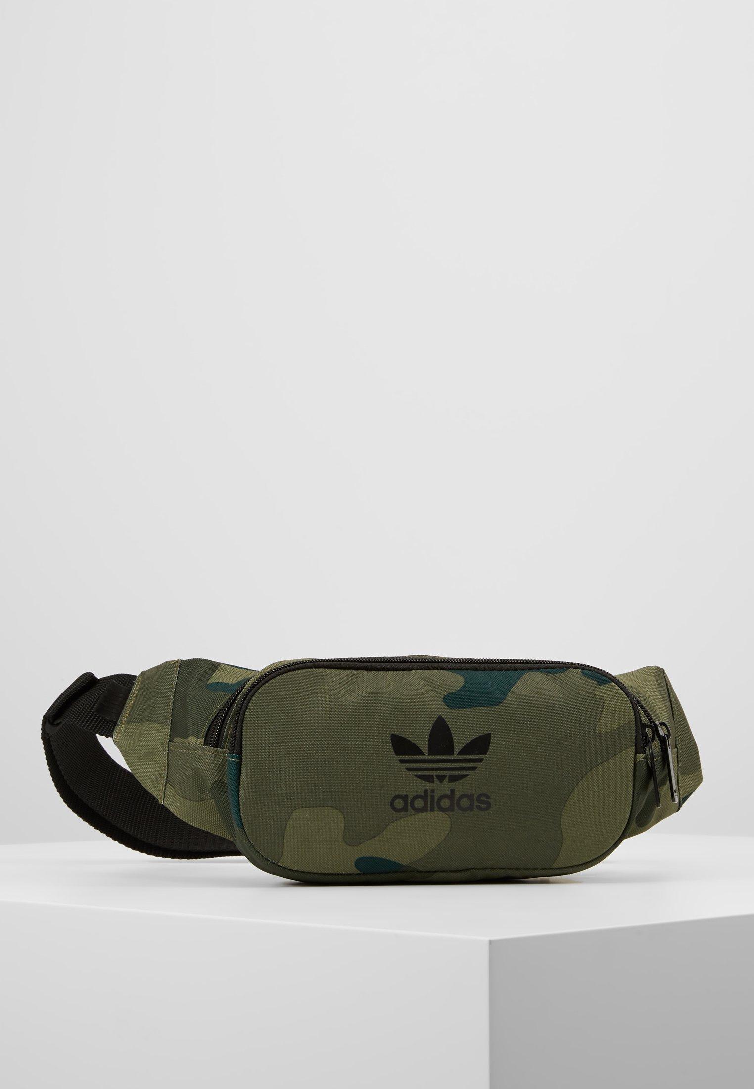 Adidas Originals Camo Waistbag - Vyölaukku Green