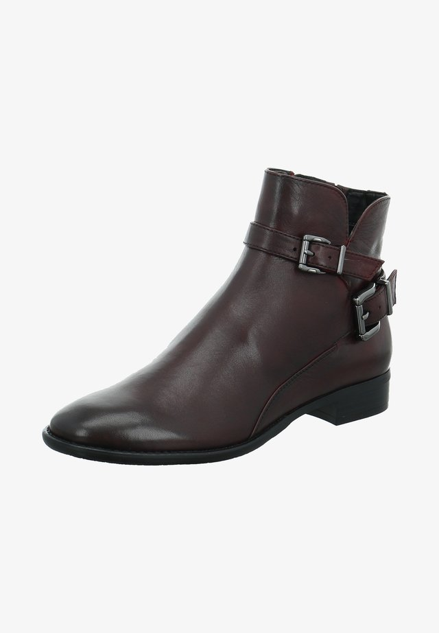 Cowboy/biker ankle boot - rot