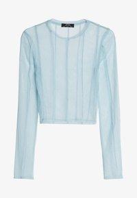 Bershka - Long sleeved top - light blue - 4