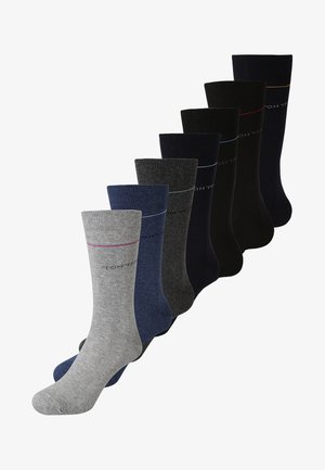 MEN DAYS 7-DAYS BOX 7 PACK - Calcetines - grey melange