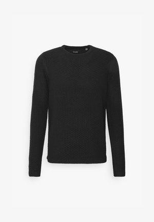 ONSLOCCER CREW NECK - Jumper - black