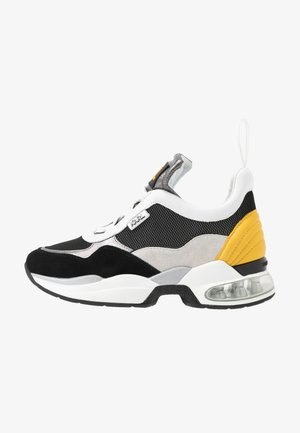 LAZARE MID  - Trainers - dark grey/yellow