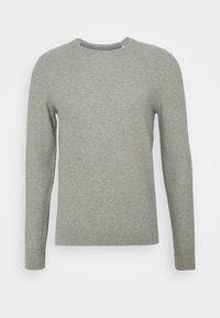 light soft grey melange