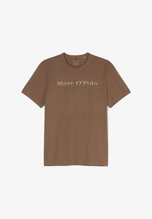 Print T-shirt - cinnamon