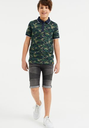 Polo shirt - army green