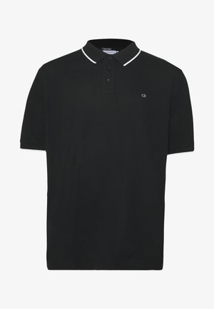 STRETCH TIPPING - Koszulka polo - black