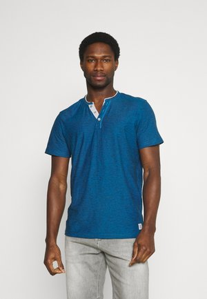 Print T-shirt - ibiza blue
