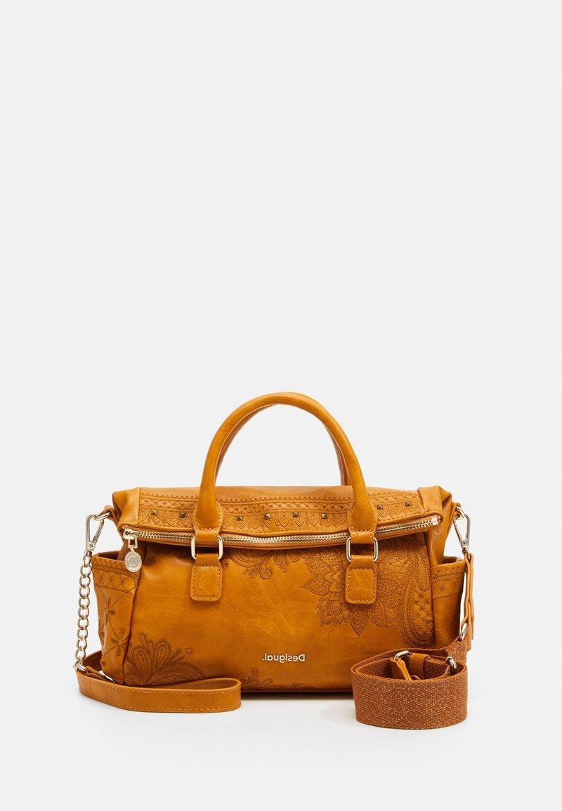 Desigual - BOLS MARTINI LOVERTY MINI - Handbag - yellow