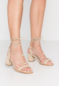 ALOHAS - Sandals - sand - 0