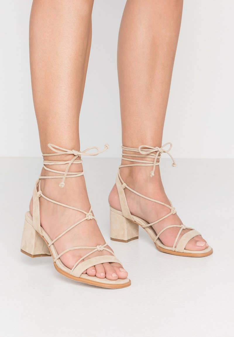 ALOHAS - Sandals - sand