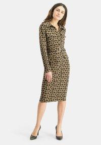 Nicowa - PATINO - Shift dress - braun - 1