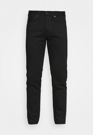 ED-80 SLIM TAPERED - Jeans Tapered Fit - black denim