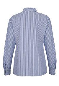 Alba Moda - Button-down blouse - marineblau weiß - 5