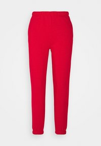 BASIC - Tracksuit bottoms - true red