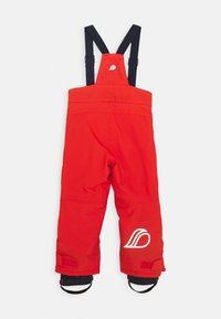 Didriksons - IDRE KIDS PANTS - Trousers - poppy red - 1