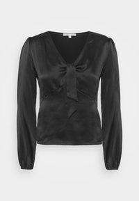 LIFFANY - Long sleeved top - noir