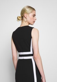 Calvin Klein - CONTRAST PANEL DRESS NS - Day dress - black - 3