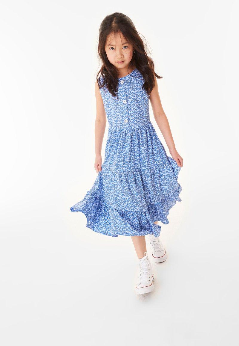 Next - Robe longue - blue